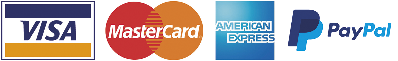 Icone carte, bancomat, paypal